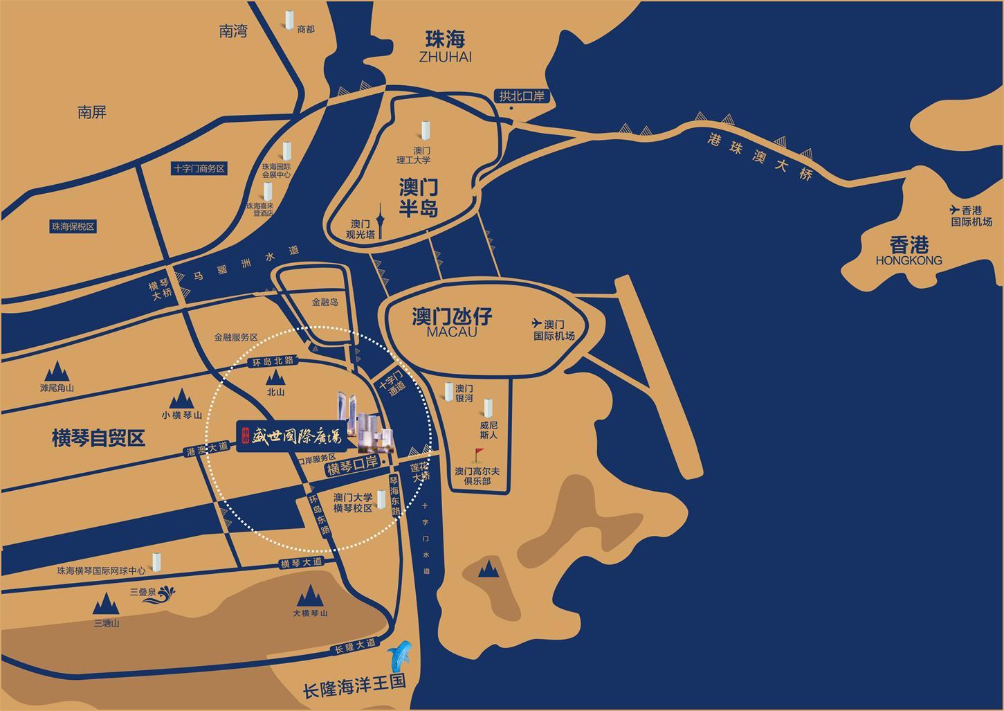 中冶盛世国际广场交通图