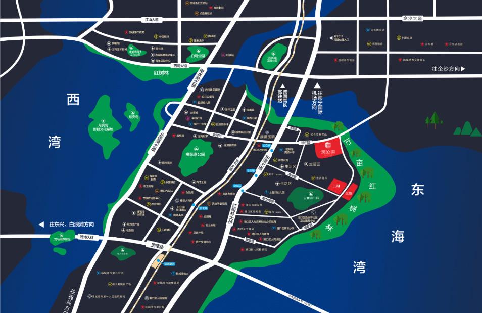观沧海交通图