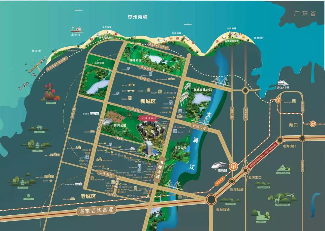双杰蓝海国际交通图
